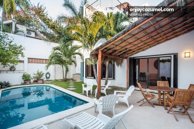 cozumel 4 bedroom house with pool casa sora